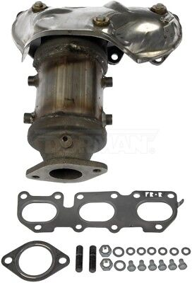 Exhaust Manifold with Integrated Catalytic Converter Rear Dorman 673-852
