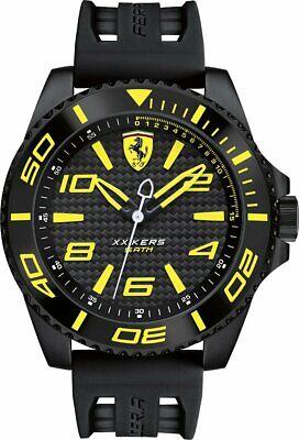 Scuderia Ferrari - XX Kers Quartz Wristwatch - Yellow/black Authentic NIB