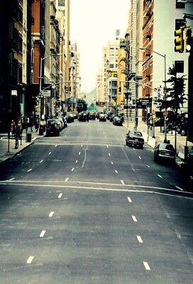 Street Scene Props Vinyl City View Backdrop 5x7ft Studio Photography - City Scene Backdrop