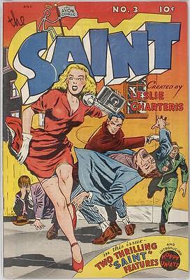 The Saint #3 Photocopy Comic Book, Simon Templar