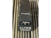 Fantastic Fulltone Clyde Wah pedal - better than a Dunlop Cry Baby!