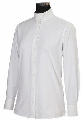 Tuffrider Ladies Show Shirt - NEW TUFFRIDER LADIES STARTER SHOW SHIRT, WHITE, FREE SHIPPING!
