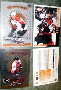 Oshawa Generals Eric Lindros Promo's  Pinacle Star Factor Poster