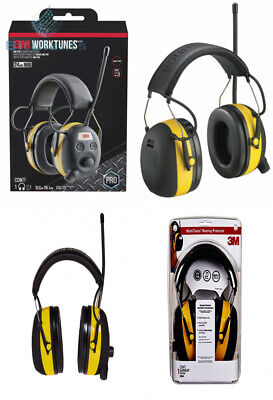 3m Worktunes Hearing Protector With Amfm Radio 1 Pack Wired