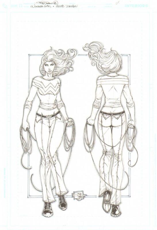 Wonder Girl Design Art - 2008 art by Joe Prado