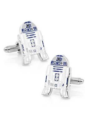 Star Wars R2D2 Cufflinks Fathers Day Gift Groom Groomsman Wedding Cufflinks