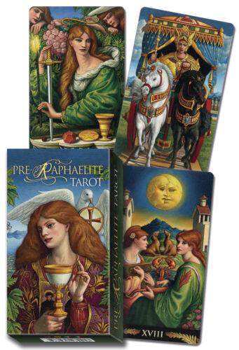 Pre-Raphaelite Tarot Deck Lo Scarabeo New Sealed