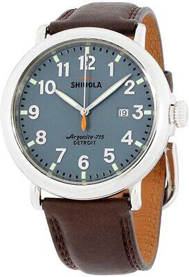 Shinola The Runwell Quartz Movement Blue Dial Men's Watches S0120001119