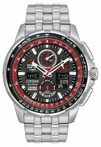 Citizen Men's Alarm JY8059-57E Chronograph Eco-Drive Watch