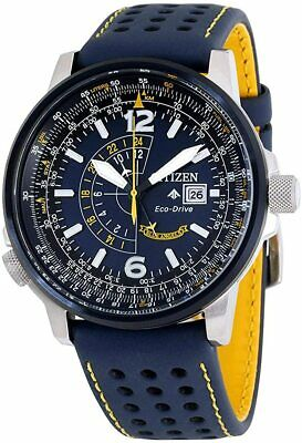 Citizen Men's Blue Angels Promaster Nighthawk Eco-Drive Watch BJ7007-02L NEW