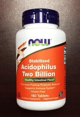 Now Foods Acidophilus Two Billion - 180 Caps