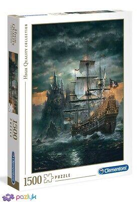 Clementoni Puzzle 1000 pièces Bateau Pirate 31682 High Quality Collection