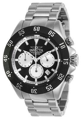 Invicta Speedway 22396 Mens Black Round Chronograph Date Analog Watch