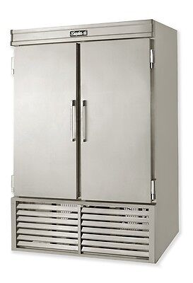 Leader 54 Commercial Refrigerated Solid Door Reach In Freezer Self-contained