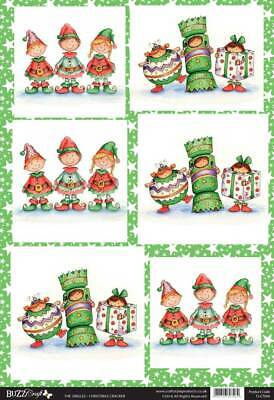 BEAUTIFUL CHRISTMAS CRACKER TOPPERS FOR CARDS & CRAFTS ()