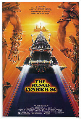 Mad Max 2 The Road Warrior Movie Poster Print - 1981 - Action - 1 Sheet