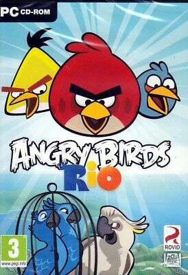 Angry Birds RIO PC Game (FREE US shipping)  Windows 7 / Vista / XP NEW