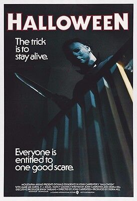 Halloween Movie Poster Print - 1978 - Horror - One (1) Sheet Artwork](Halloween Movie 1)