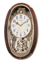 Rhythm Clocks Trumpet Boys Musical Motion Clock (4MJ895WD23)