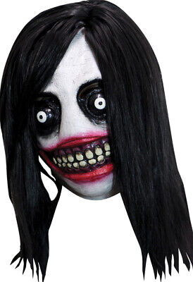 Halloween CREEPYPASTA JEFF THE KILLER Horror High-Quality Latex Deluxe Mask  ()
