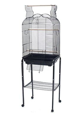 Open Play Top For Small Parrot Bird Cage Cockatiel Small Parrots Black 1718  361