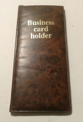 Business Card Holder Wallet Organizer 10 X 4 12 Holds 48 Cards