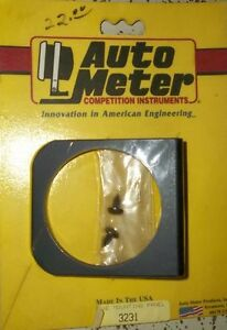 "2 - AUTO METER # 3231 SINGLE HOLE 2 5/8"" GAUGE PANEL $10.00 each Belleville Belleville Area image 1"