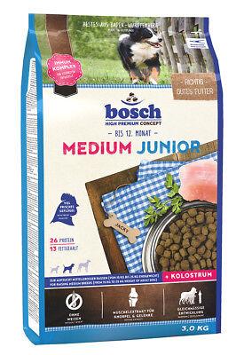 Bosch Medium Junior 3 kg Welpenfutter für mittelgroße Rassen Trockenfutter