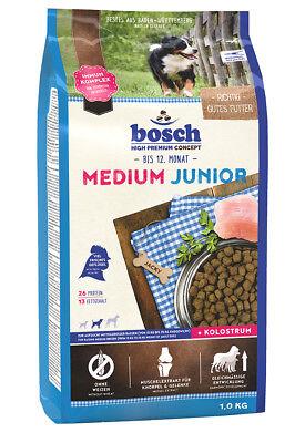 Bosch Medium Junior 1 kg Welpenfutter für mittelgroße Rassen Trockenfutter