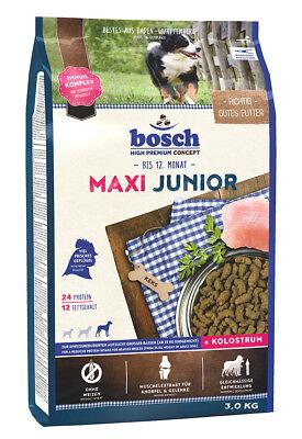 Bosch Maxi Junior 3 kg Welpenfutter für große Rassen Hundefutter