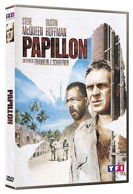 "STEVE MCQUEEN-DUSTIN HOFFMAN "" PAPILLON  "" DVD NEUF"
