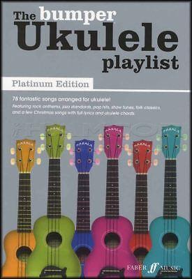 The Bumper Ukulele Playlist Platinum Edition Chord Songbook with Full Lyrics