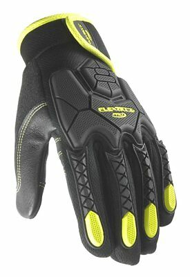 Flexzilla F7005M Hi-Dexterity Leather Work Gloves, Touch Screen Capability Pro M