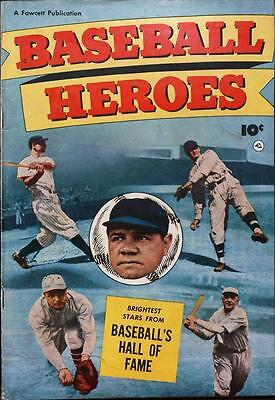 Baseball Heroes #1 Photocopy Comic Book, Babe Ruth, Ty Cobb, Lou Gehrig