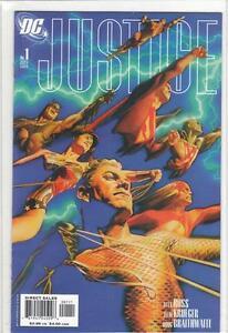 Justice - 18 comics including variants.
