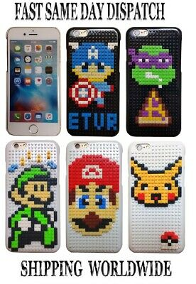 Lego Building Block Case Cover for Apple iPhone 6/6S 4.7'' smartphone