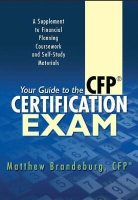 Your Guide To The Cfp Certification Exam    2018 Edition