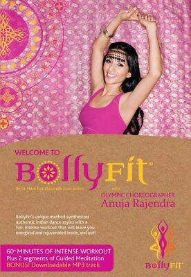 WELCOME TO BOLLYFIT BOLLY FIT BOLLYWOOD DANCE DVD NEW SEALED WORKOUT EXERCISE for sale  Shipping to India