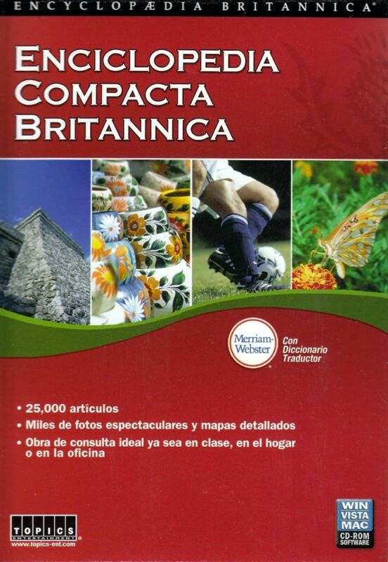 Enciclopedia Compacta Britannica Mac/Windows 80947