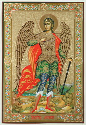 St. Michael the Archangel - Very Large Russian Icon - 19.25 x 13.2 -