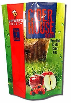 Brewer's Best Cider House Select Strawberry Pear Cider Making