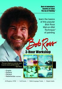 BOB ROSS JOY OF PAINTING SERIES: 3 HOUR WORKSHOP (Bob Ross) - DVD - Region Free