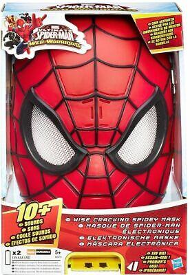 Spiderman Maske mit Sound elektronisch Spider Man Fasnacht Halloween ()