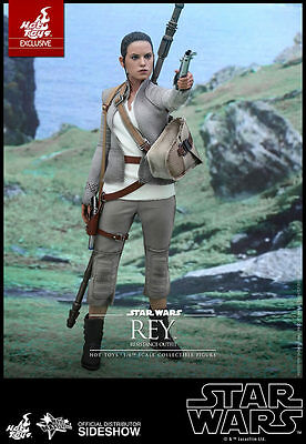 Hot Toys Star Wars The Force Awakens REY RESISTANCE OUTFIT 12
