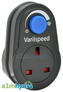 Variispeed 300W Plug In Variable Fan Speed Controller Hydroponics