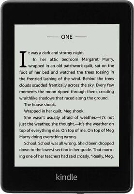 Amazon Kindle Paperwhite 5th Gen 2GB Black, Built-in Light, WiFi Only E-Reader