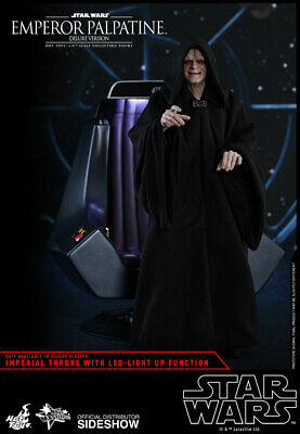 Hot Toys Star Wars  M468 Emperor Palpatine Deluxe Version Brand New UK seller