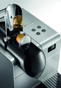 DeLonghi - Nespresso Lattissima Plus Espresso Maker - Silver Model: EN520SL