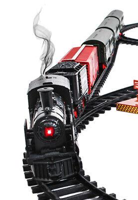 Elektrische Eisenbahn Lok Kleinkinderspielzeug Eisenbahn Bahnhof Schienen 8239