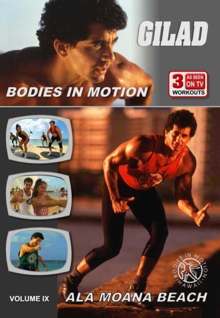 GILAD: BODIES IN MOTION - ALA MOANA BEACH (Gilad) - DVD - Region Free